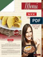 Menú Virtual Pan Pa Ya 2019