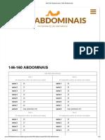 Evoluindo e Aprendendo 146-160 Abdominais _ 300 Abdominais