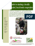 Guide to Starting a Locally-scaled, Local Foods Cooperative