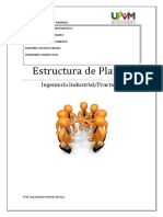 Estructura de Planta