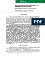 Financiamento de campanhas eleitorais no Brasil