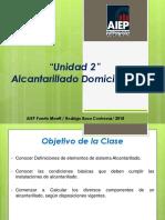 N°3 ALCANTARILLADO DOMICILIARIO