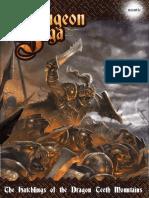 Dungeon Saga - Hatchlings of the Dragon Teeth Mountains
