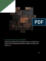 Catálogo Pedra Ferro