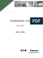 Powerware 9120 User Manual 700 3000VA