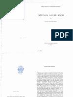 Estudios Saharianos (Julio Caro Baroja)