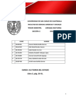 Resumen, Teoria Del Estado (Compilado) Contrato Social (Libro II) 2019