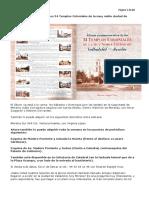 Álbum Conmemorativo de Los 34 Templos Coloniales de La Muy Noble Ciudad de Valladolid