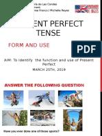 Unit1 Present Perfect Tense