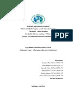 Trabajo de Procedimiento Contencioso Administrativo