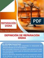 Deifinicion de Reparacion Digna