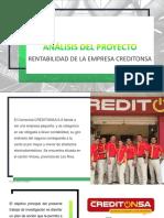 Análisis Del Proyecto CREDITONSA