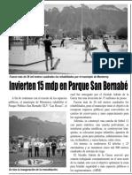 25-07-19 Invierten 15 mdp en Parque San Bernabé