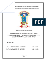 PROYECTO CATERINGg