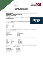 Evaluación Diagnóstica Terceros y Cuartos Medios