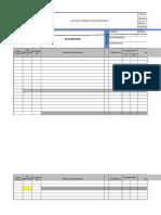 f Ger 021 Lista Verificación