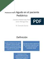 Abdomen Agudo en El Paciente Pediátrico
