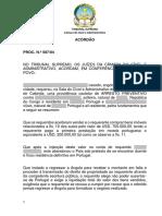 TSCCA Acórdão Proc. Nº 587 04 de 6 de Maio de 2006 Def
