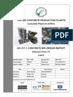 ACI 211.1 Study Example