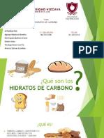 Diapositiva. Hidratos de Carbono