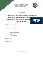 Informe 4 Saponificacion Del Acetato de Etilo Con Naoh