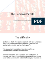 The Handmaid's Tale - Revision