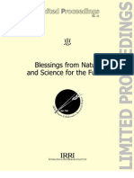 Blessing from Nature and Science for the Future