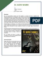 El Gato Negro - Resumen