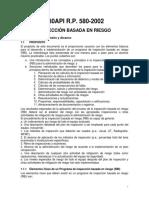 API 580-02 Inspección basada en riesgo Español.pdf