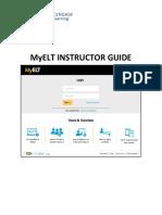 MyELT Instructor Guide