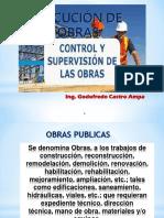 control y supervisor de obras