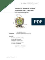 Ejercicios - III - 2019-I
