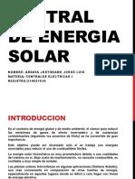 Proyecto Centrales I ELT 282 Energias alternativas