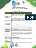 Protocolo Salida de Campo - Curso Cultivos de Clima Medio