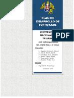 Plan de Desarrollo de Software en Proceso