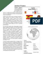 Dictadura de Francisco Franco