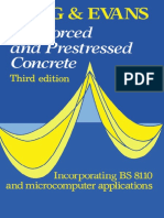 Concrete prestressed