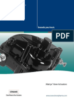 Xomox MatryxVaneActuator Brochure NorthAmerica