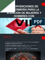 INTERVENCIONES DE ENFERMERÍA PARA LA ATENCIÓN DE MUJERES VIH.pptx