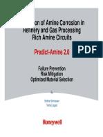 Predict Amine20 Overview