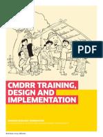 Booklet 1 CMDRR Training Design and Implementation