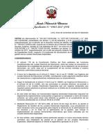 Resolución N° 483-2017-JNE, Reglamento de Gestión de los Jurados Electorales Especiales,