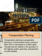 Tranportation Planning