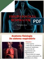 Fisiopatologia Respiratória