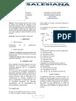 Informe Analogica II