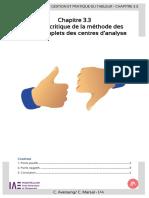3.3-Analyse Critique Methode CC