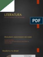 Aula 10 Realismo Machado de Assis