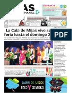 Mijas Semanal Nº 849 Del 26 de julio al 1 de agosto de 2019 (español)