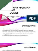Ranah Kegiatan P2KB Dokter dr. Tunggul Birowo, M.H.pptx