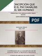 Psicoanálisis y concepción del ser humano
